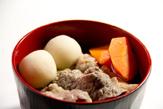 米沢牛の芋煮
