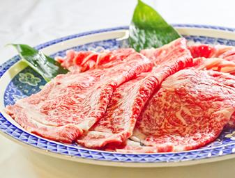 米沢牛のしゃぶしゃぶ
